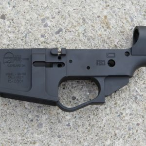 Go Ballistic Firearms Billet AR15 Stripped Lower Receiver