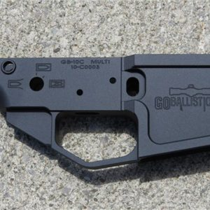 Go Ballistic Firearms 308 / 6.5 Creedmoor Billet Stripped Lower Receiver